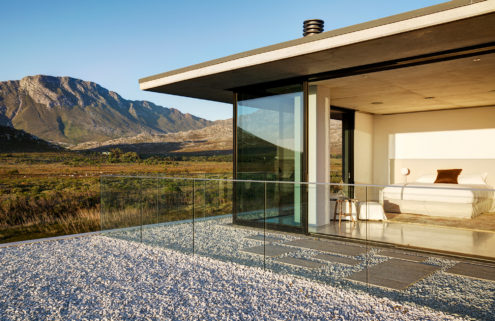 Holiday home of the week: a rugged retreat in Pringle Bay, South Africa