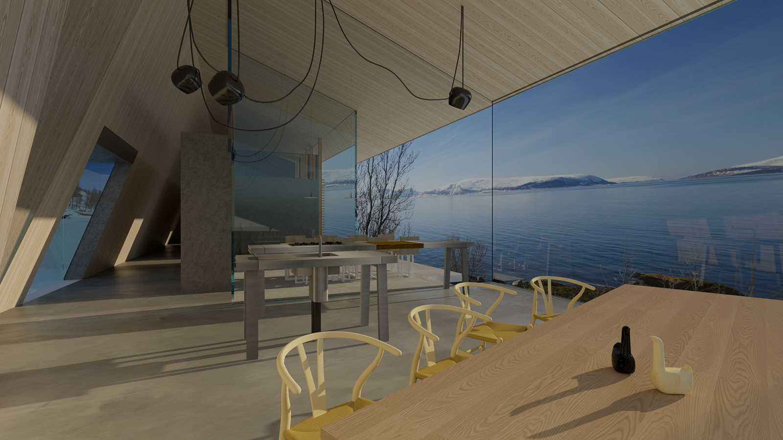 3 unbuilt homes you could make a reality: Lyngen cabin by Snorre Stinessen