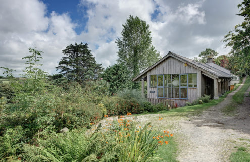 Property of the week: an artist's hideaway in Cornwall, UK