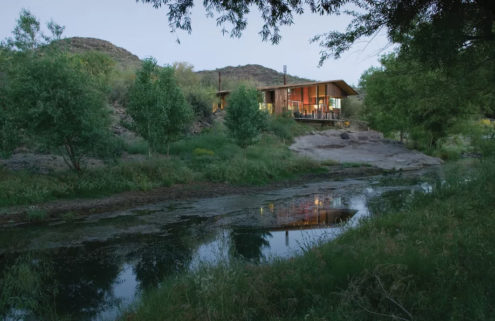 Pond House by Will Bruder in Arizona lists for $1.19m