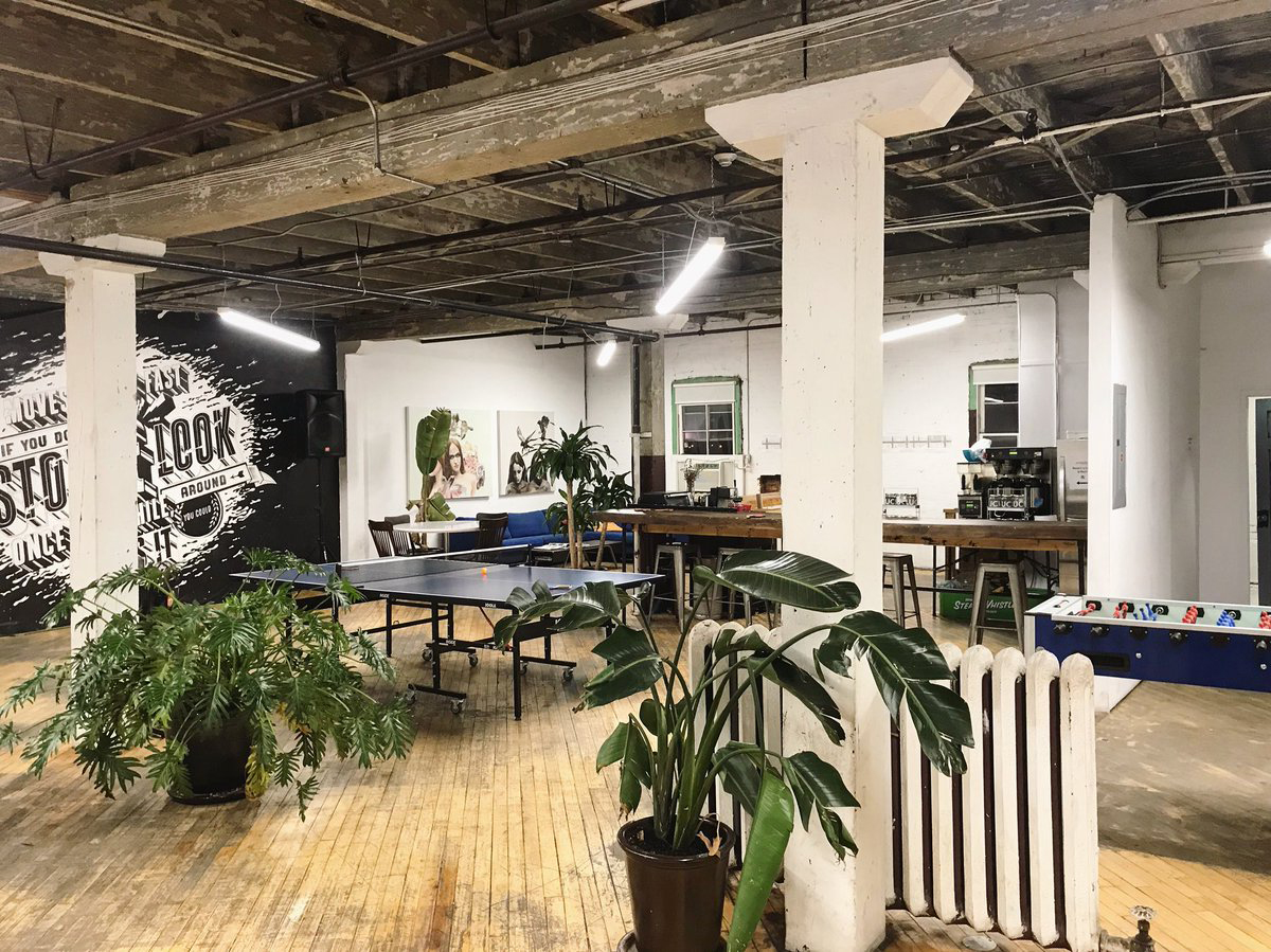 Project Space coworking hub in Toronto
