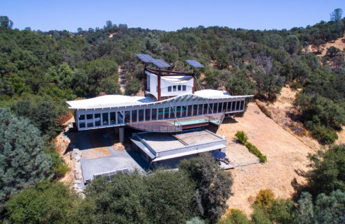 Architect's 'shipwreck' home is for sale in California for $3m