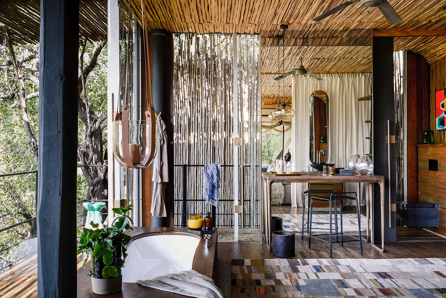 Singita Sweni safari lodge in South Africa, designed by Cecile and Boyd