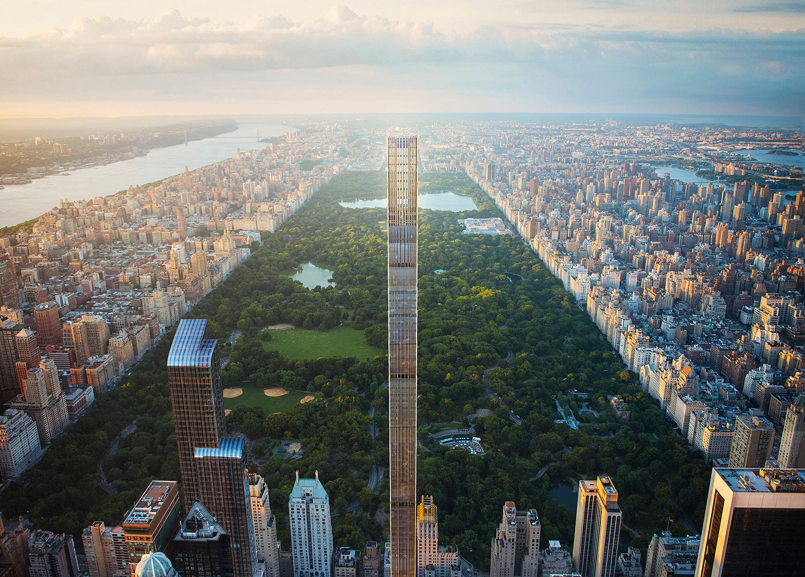 111 West 57th Street - one of the tallest buildings topping out this year