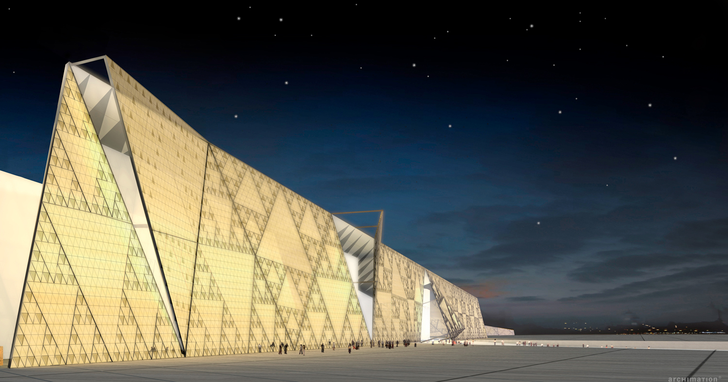 10 new museums opening in 2018: Grand Egyptian Museum ,Giza
