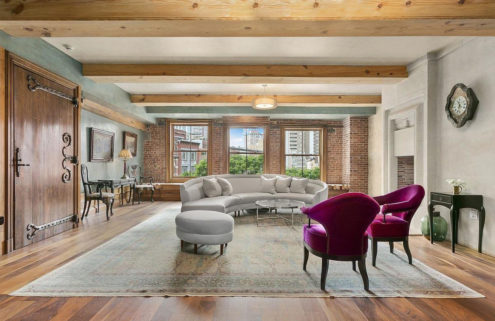Michelin star chef David Bouley's loft hits the market in New York