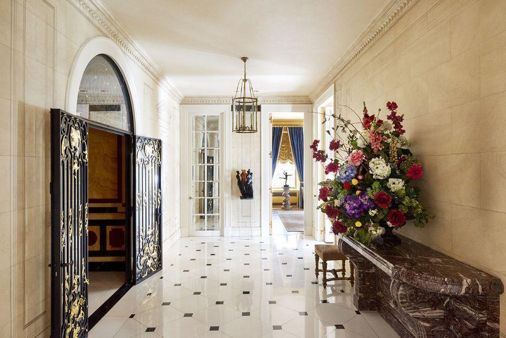 Pantone founder Lawrence Herbert's Manhattan apartment