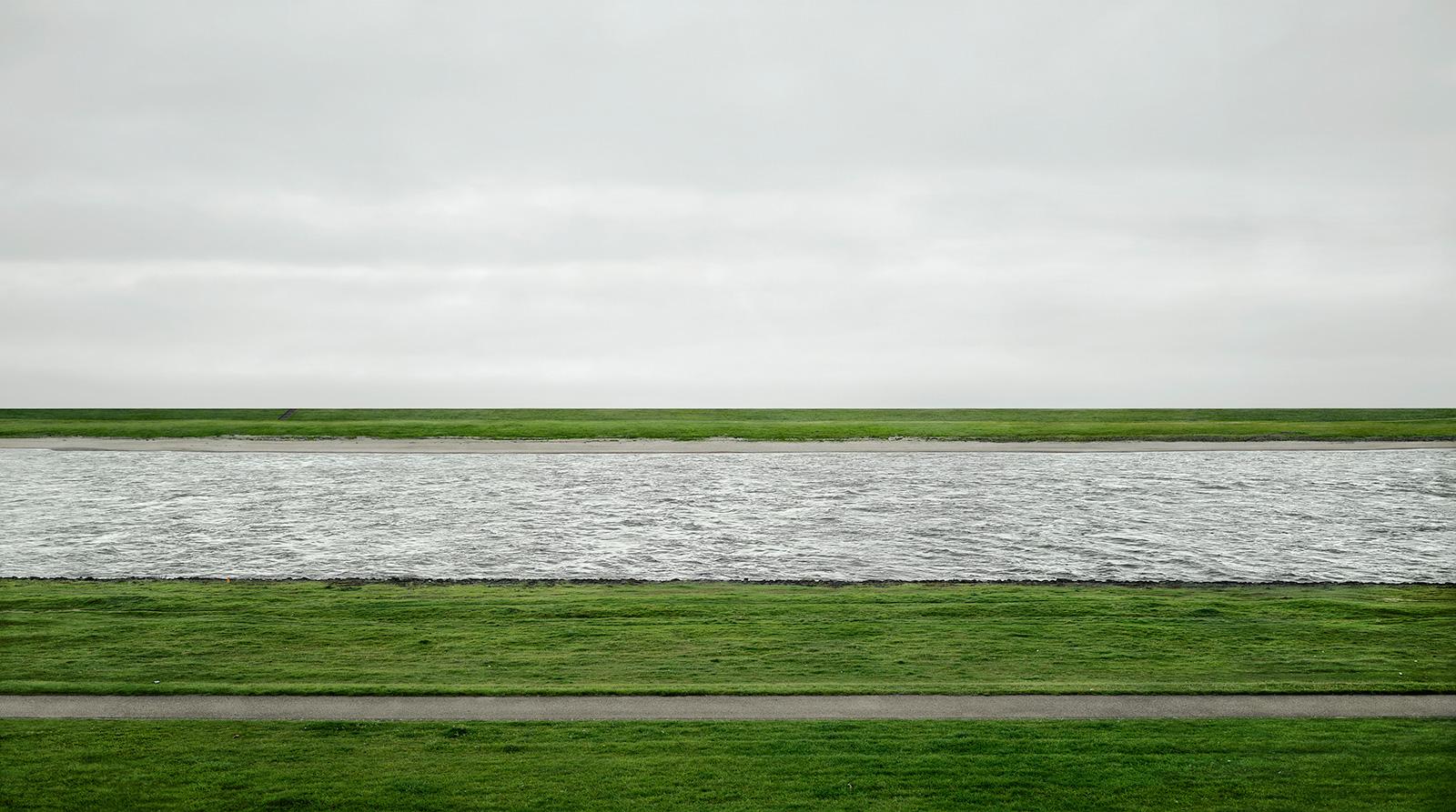 Andreas Gursky, 'Rhine II'
