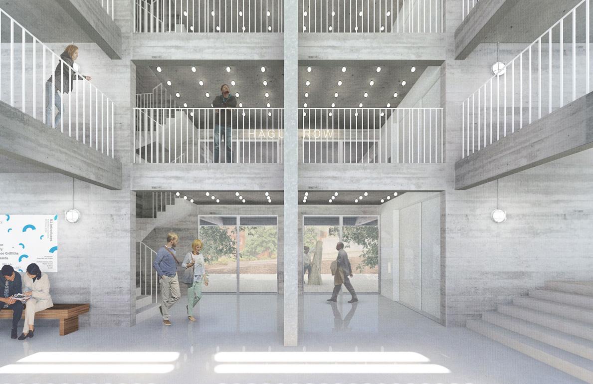 The Carmody Groarke designed Park Hill Art Space