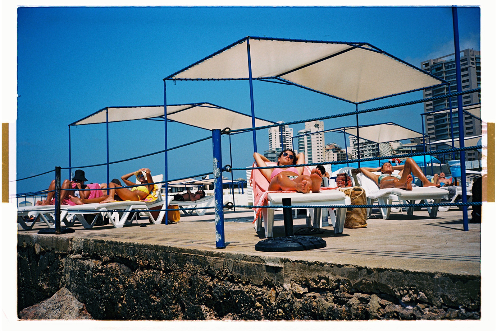 Glimpse 'old Beirut' in photographs of the city's iconic Sporting Club resort