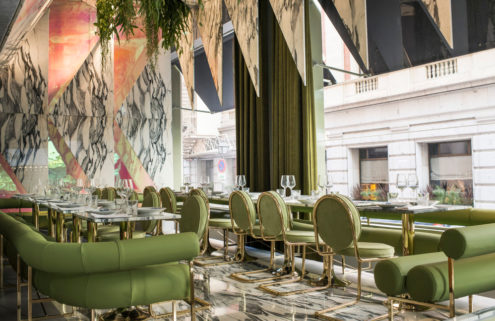 Madrid restaurant Rómola offers guilt-free dishes in sumptuous surrounds