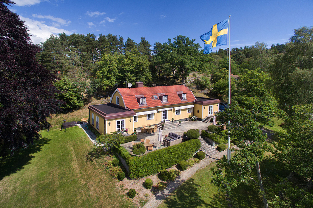 Greta Garbo's Swedish island property is for sale