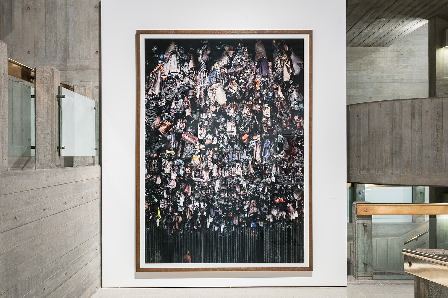 Installation view of the Andreas Gursky exhibition at Hayward Gallery