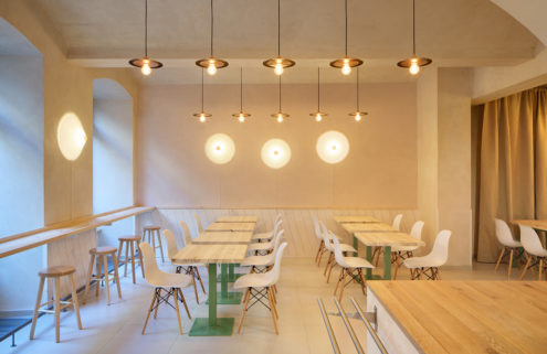 Vegan Life canteen is a calming sanctuary in Prague