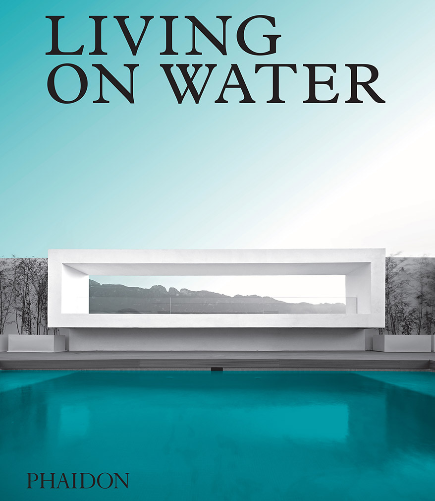Living on water book jacket
