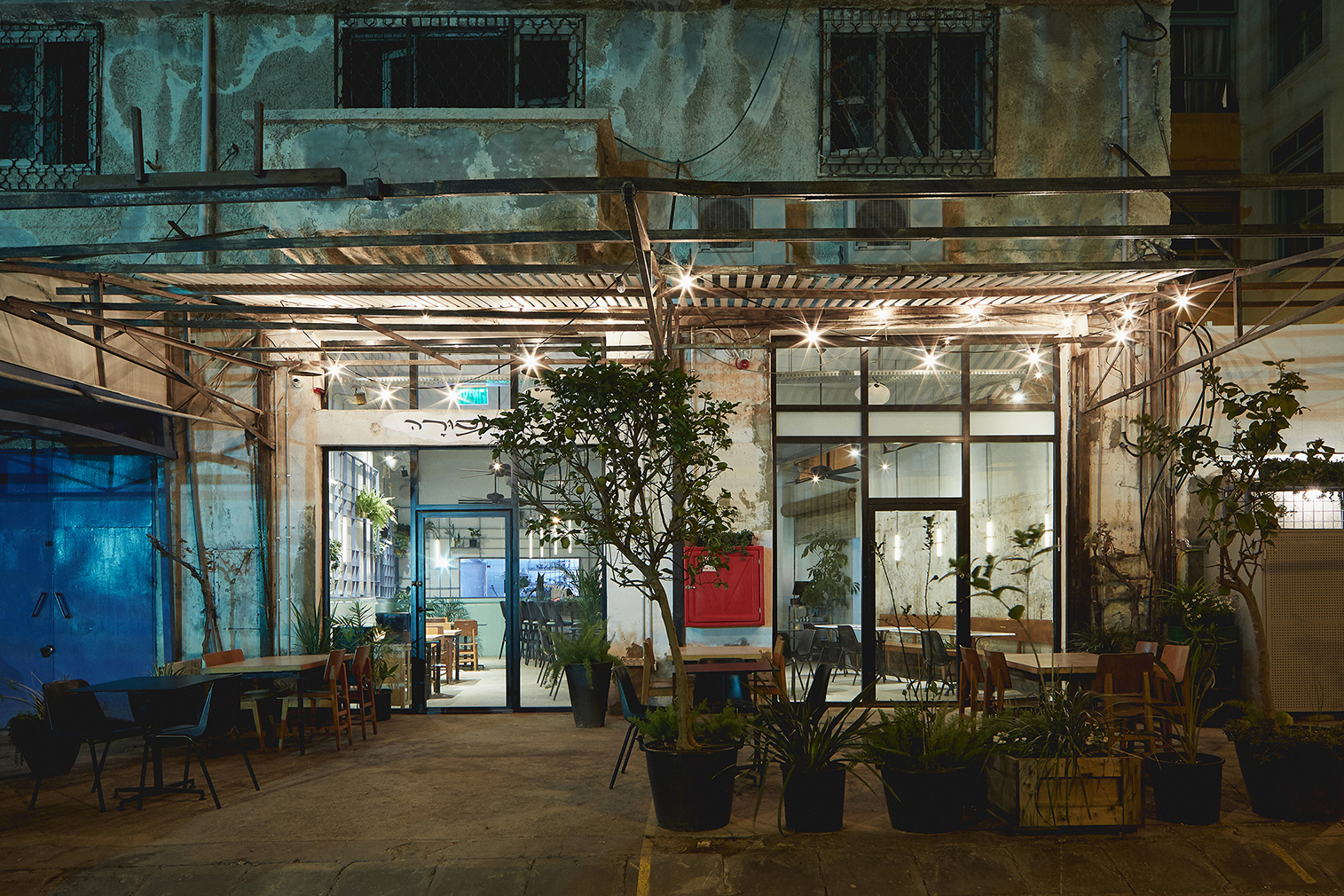 A Tel Aviv garage is reborn as Mansura restaurant