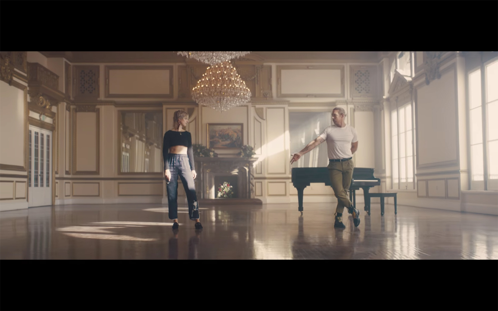 Moø and Diplo's music video Get It Right, filmed inside LA's former Alexandria Hotel