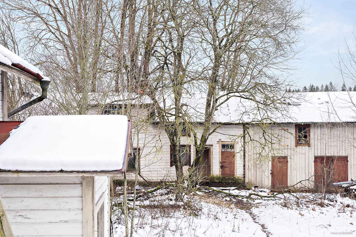 A fixer-upper Swedish property