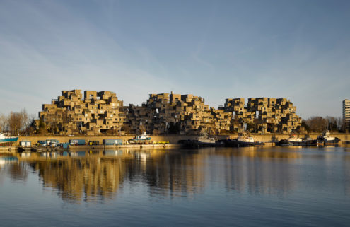 The hidden side of Moshe Safdie's Habitat 67