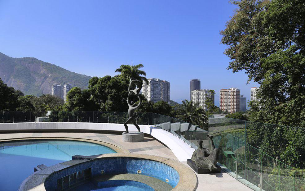 Wellness property designed by Oscar Niemeyer
