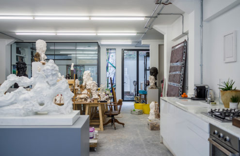 Fourthspace creates a trio of art studios on London's Vyner Street