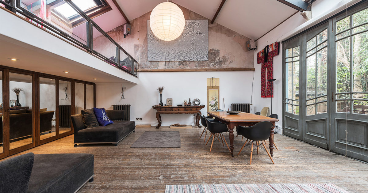 Vaulted Former Art Studio In London Asks 163 775 A Week