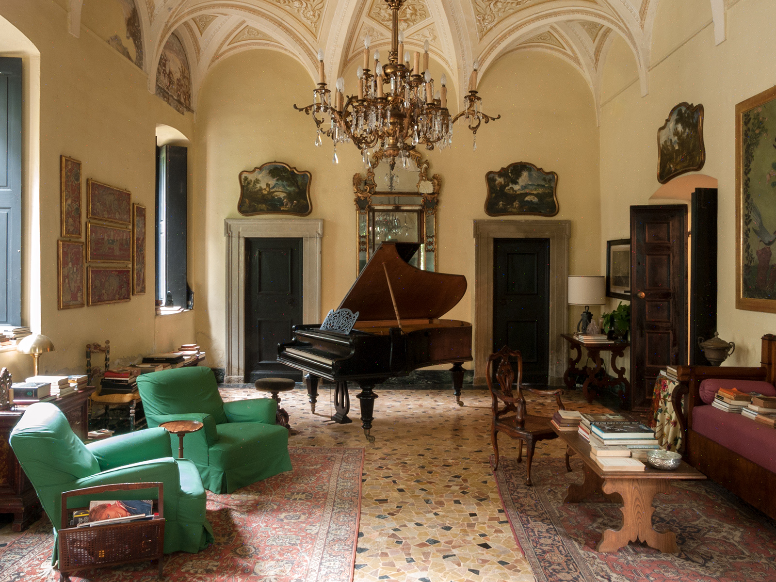 Villa Albergoni - the setting of Call Me by Your Name