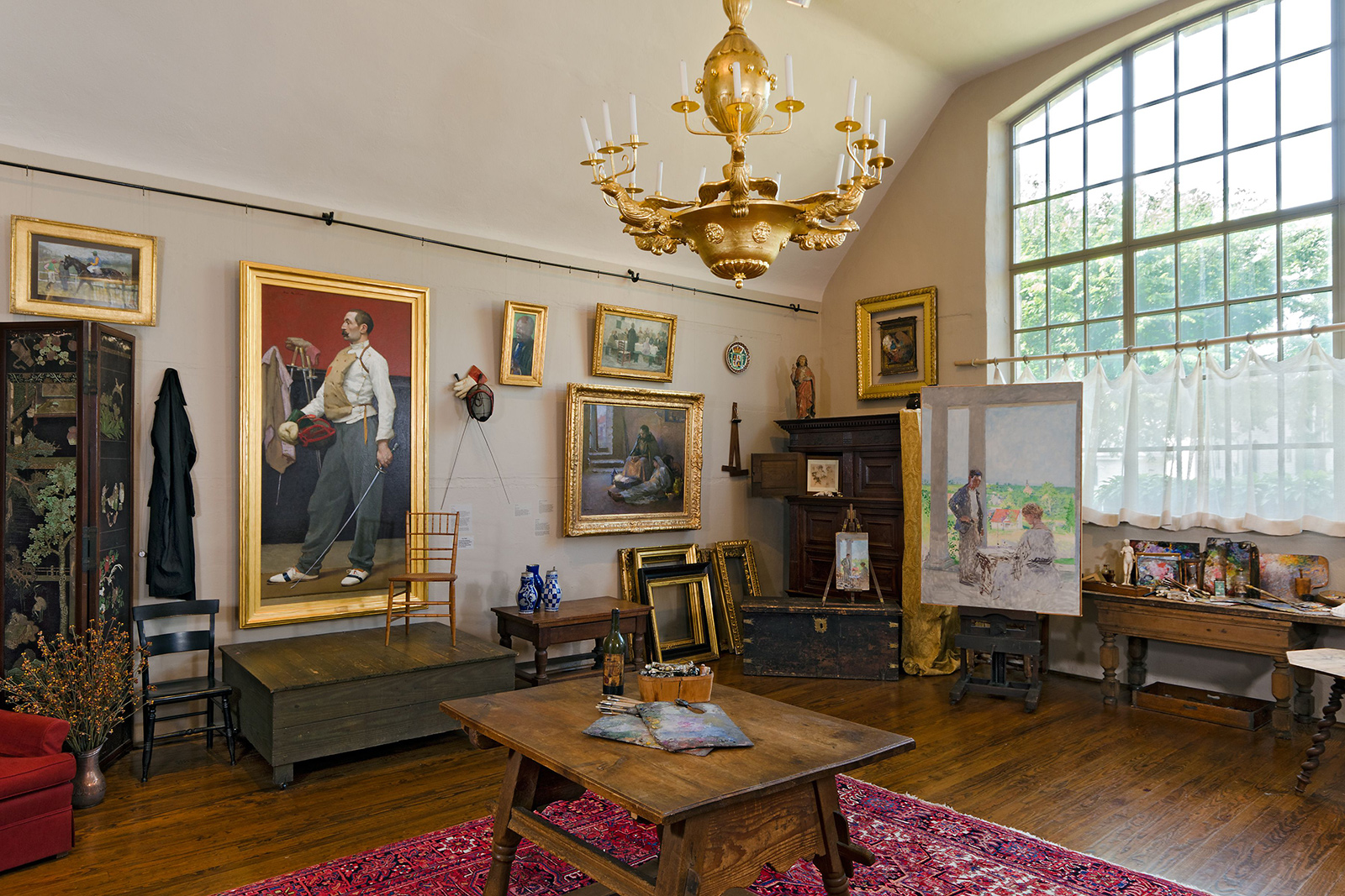 Gari Melchers' studio at Belmont