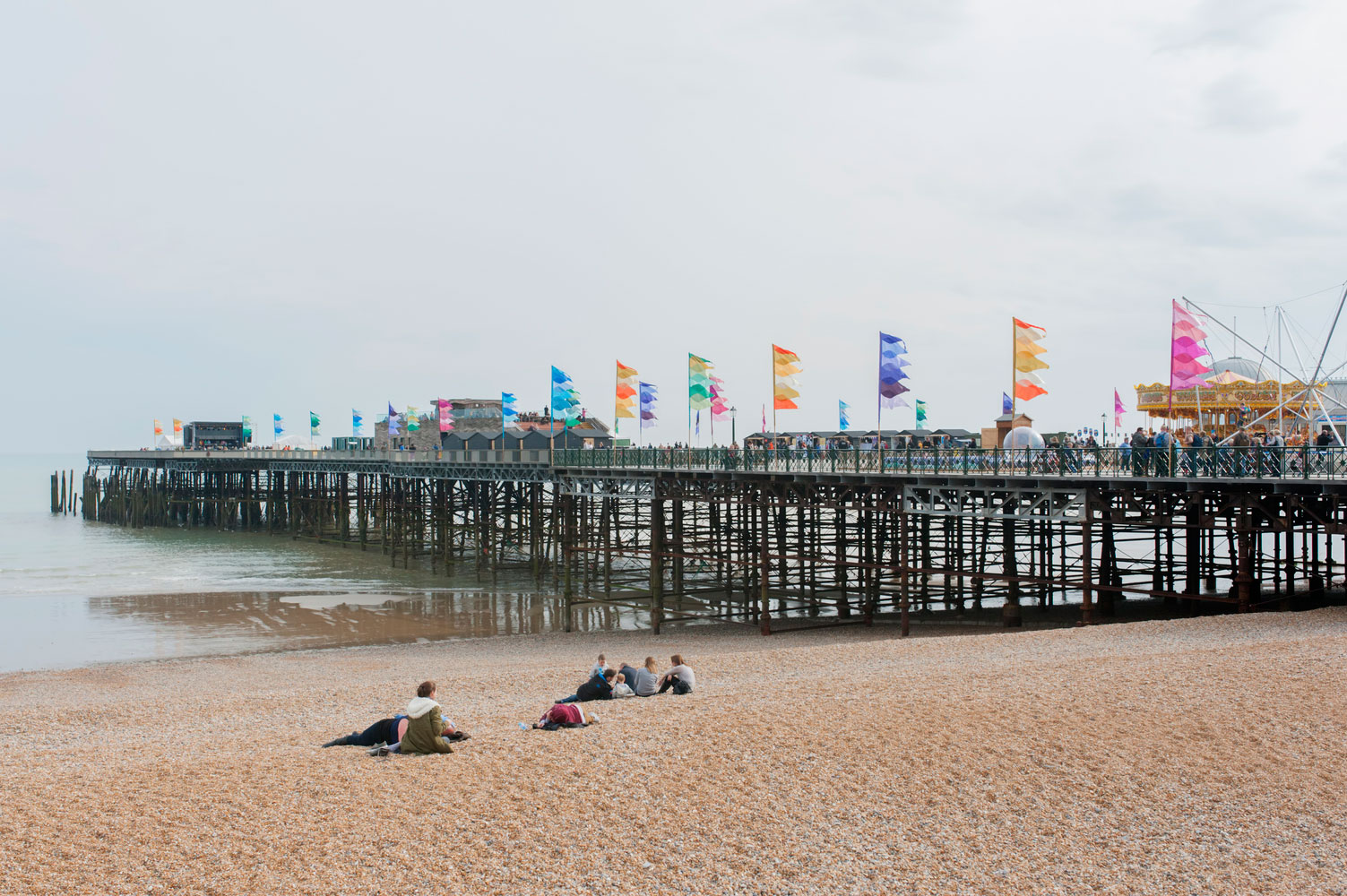 Hastings Pier, revamped by dRMM