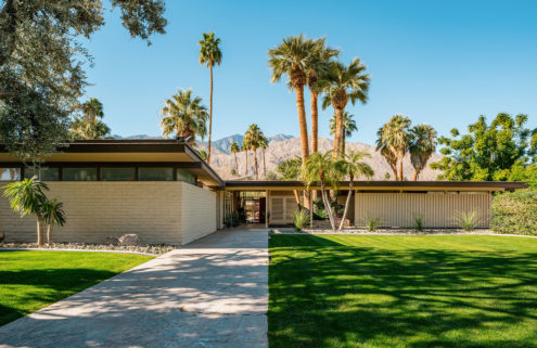 Palm Springs modernist icon by E Stewart Williams lists for $3.35m