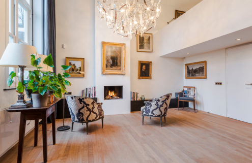 Property of the week: a spectacular loft in a converted school in Amsterdam