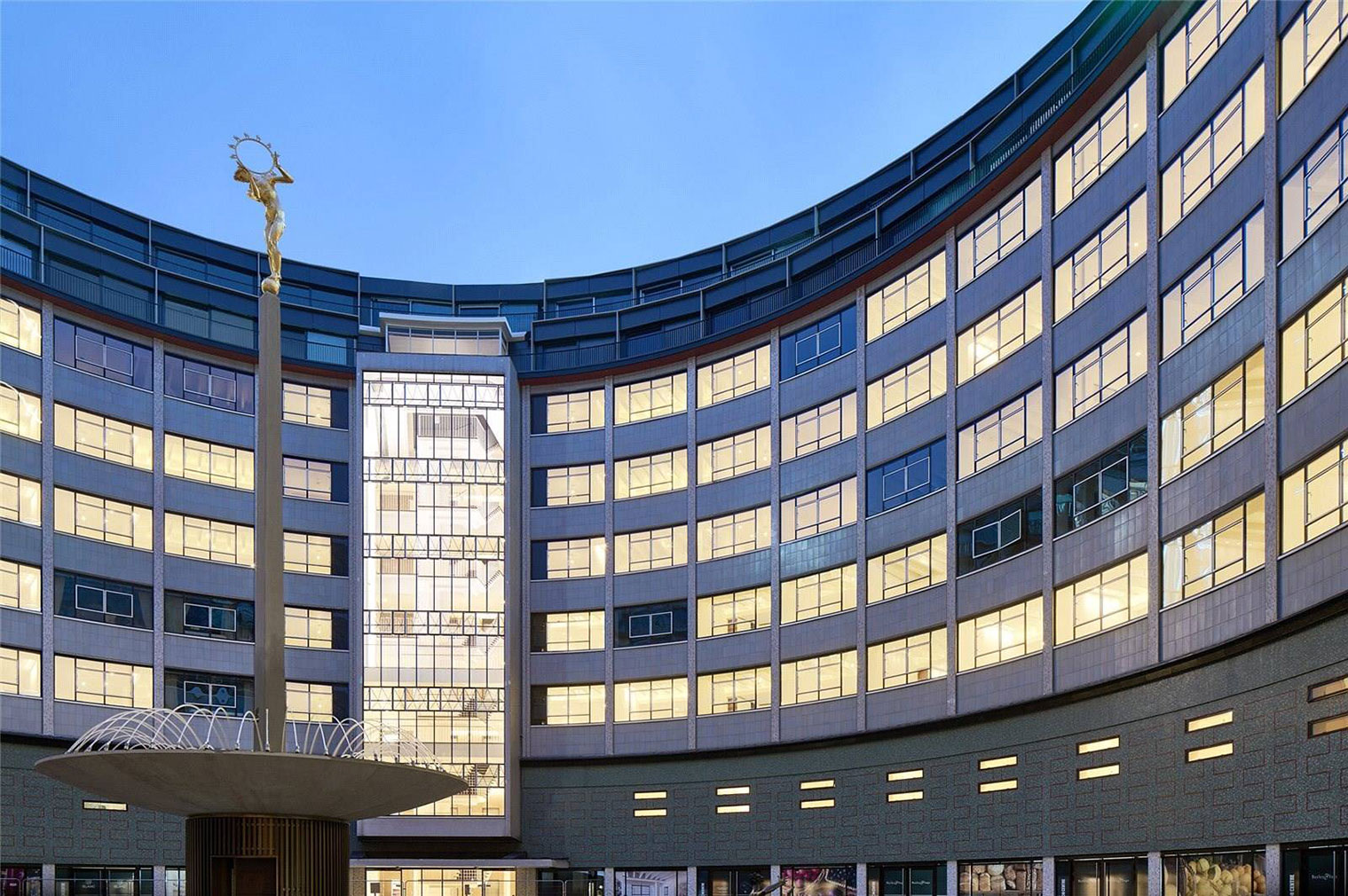 Apartment inside television centre in white city unusual london homes for sale