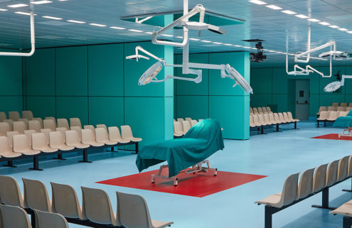 Gucci F/W 18 show in an operating theatre