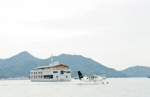 Floating hotel lets you sail between Japanese islands