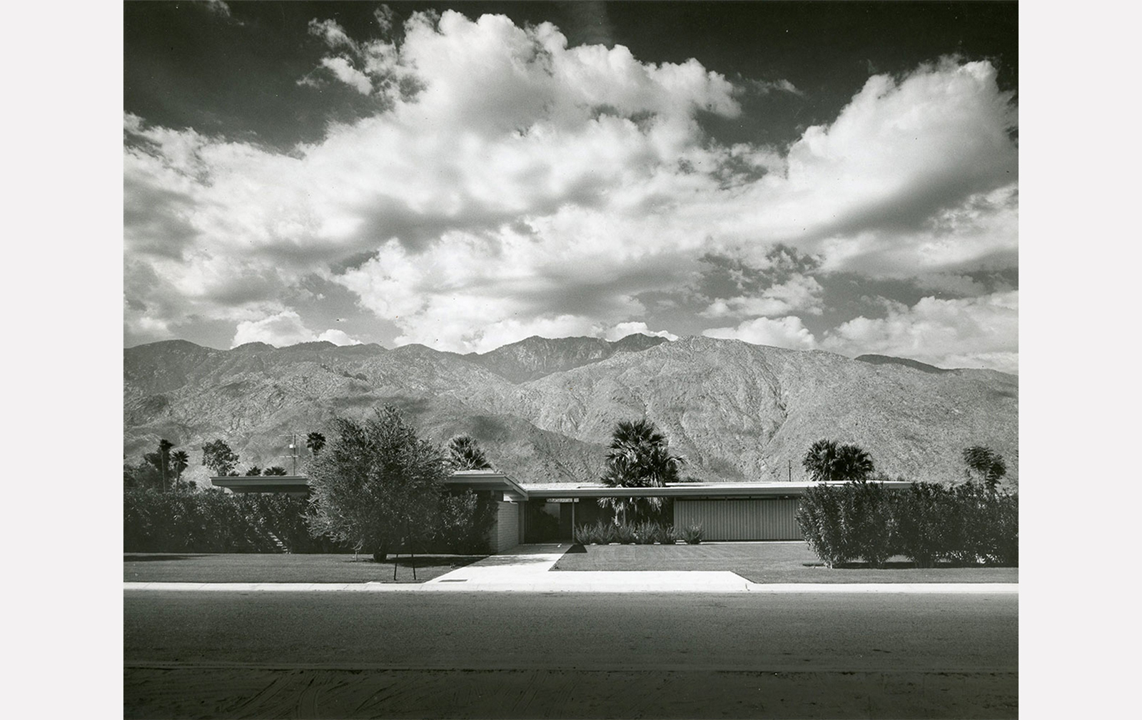 Koerner House by E Stewart Williams in Palm Springs