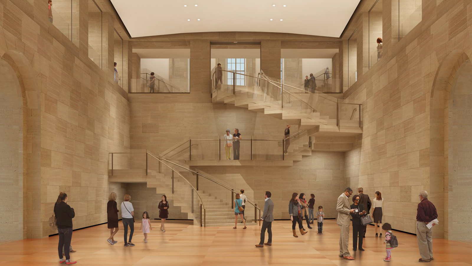 Philadelphia Museum by Gehry Partners LLP