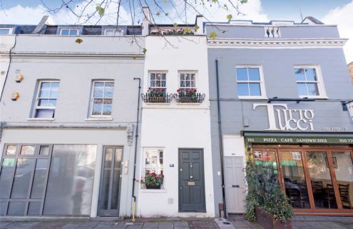 Slim House goes on sale in London for £1m