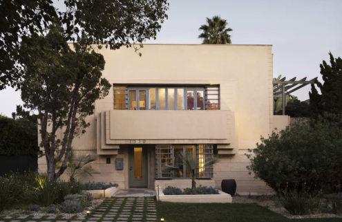 Lloyd Wright's Maya-themed Henry O Bollman Residence lists for $3m