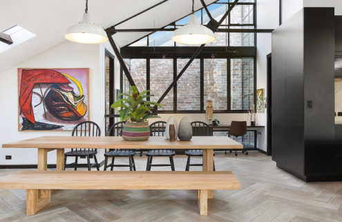 Artist Fred Cress' former Sydney loft is heading for auction