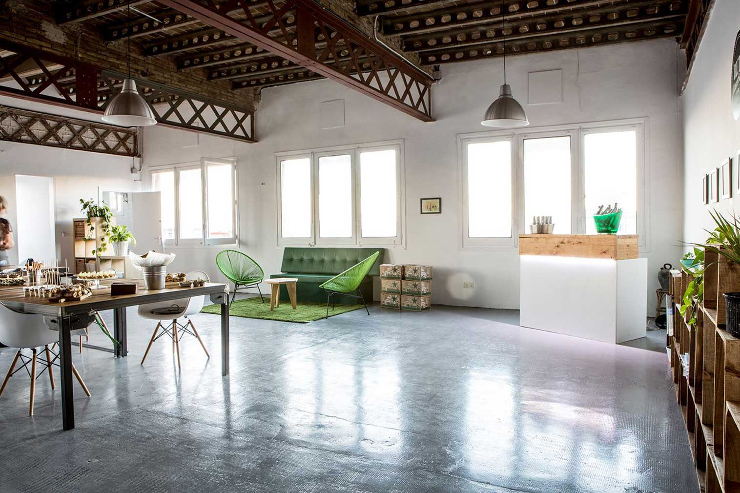 Barcelona coworking space, Blitz Gracia