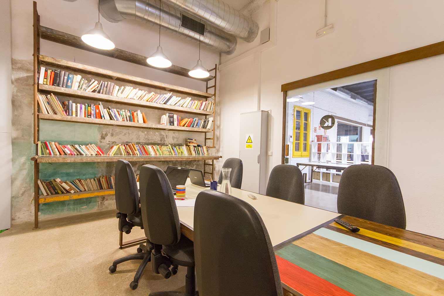 Barcelona coworking space, Valkiria Hub Space