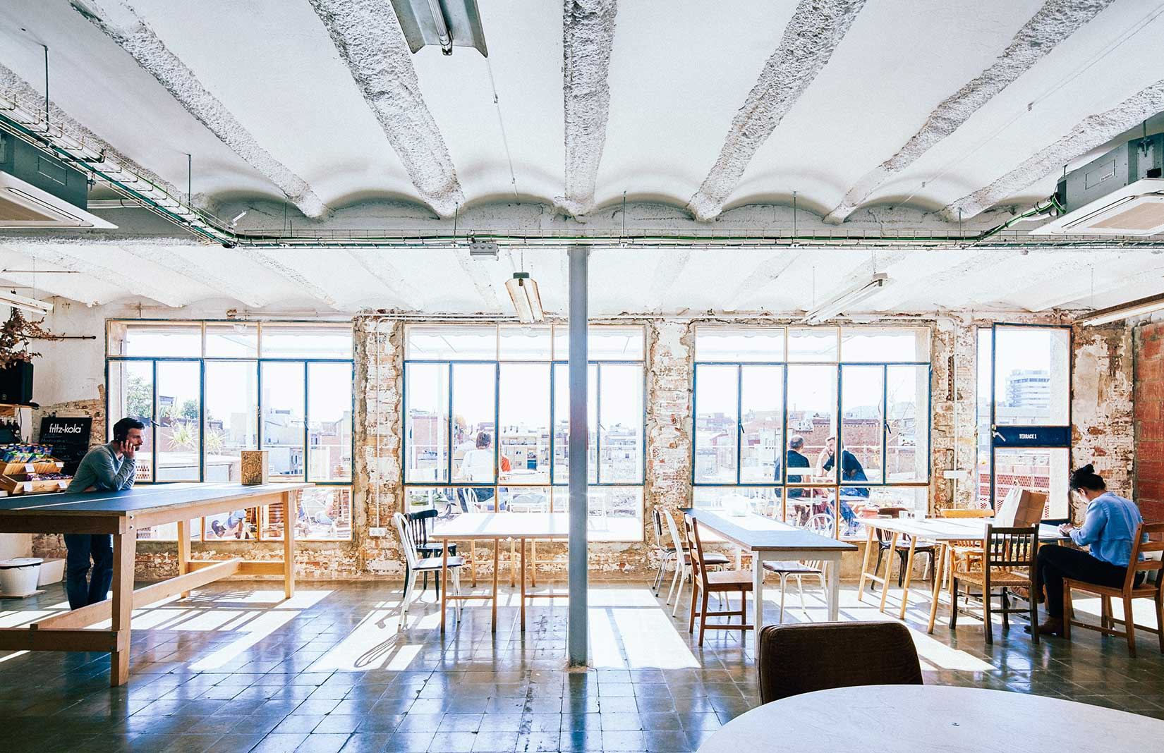 Barcelona coworking space, Betahaus