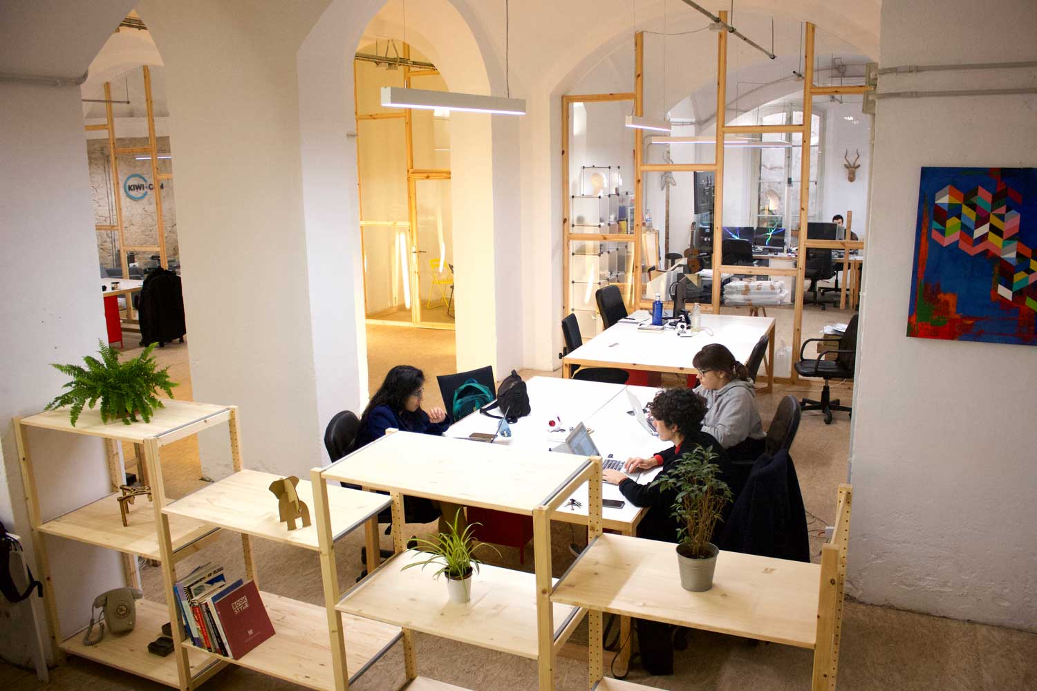Barcelona coworking space, MOB