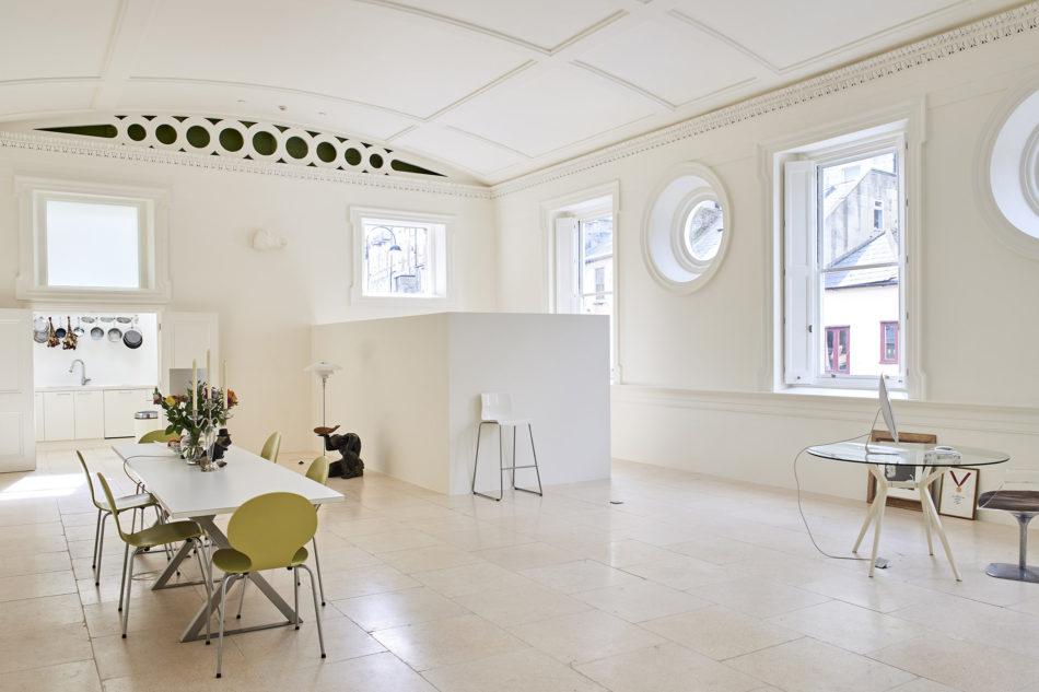 Bath ballroom apartment for sale via The Modern House