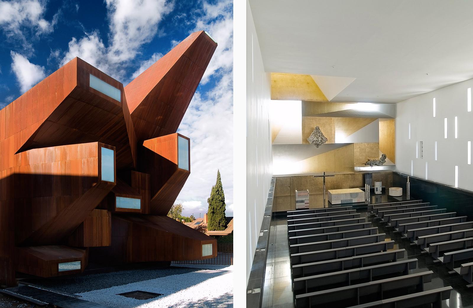 Church of Santa Monica, by Vicens + Ramos, Madrid, Spain
