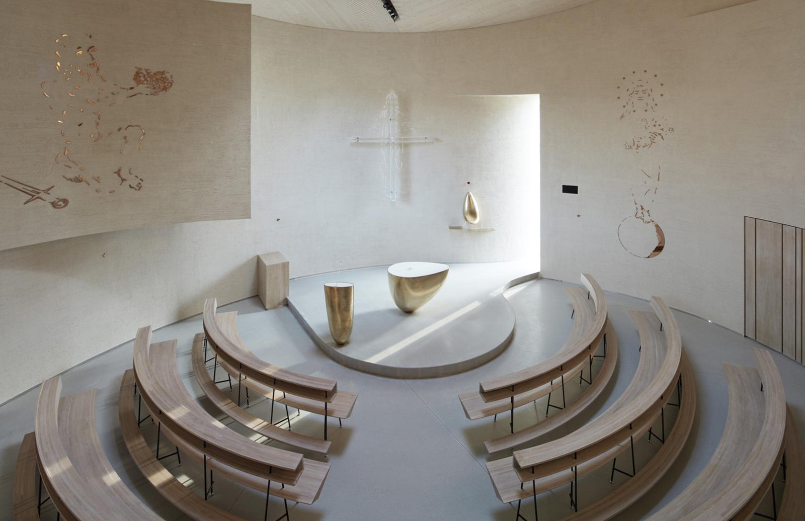 Church of St Wenceslas by Atelier Stepan, Sazovice, Czech Republic