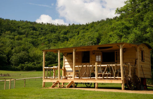 Glamping ranch hits the market in the UK's Dorset for £1.25m