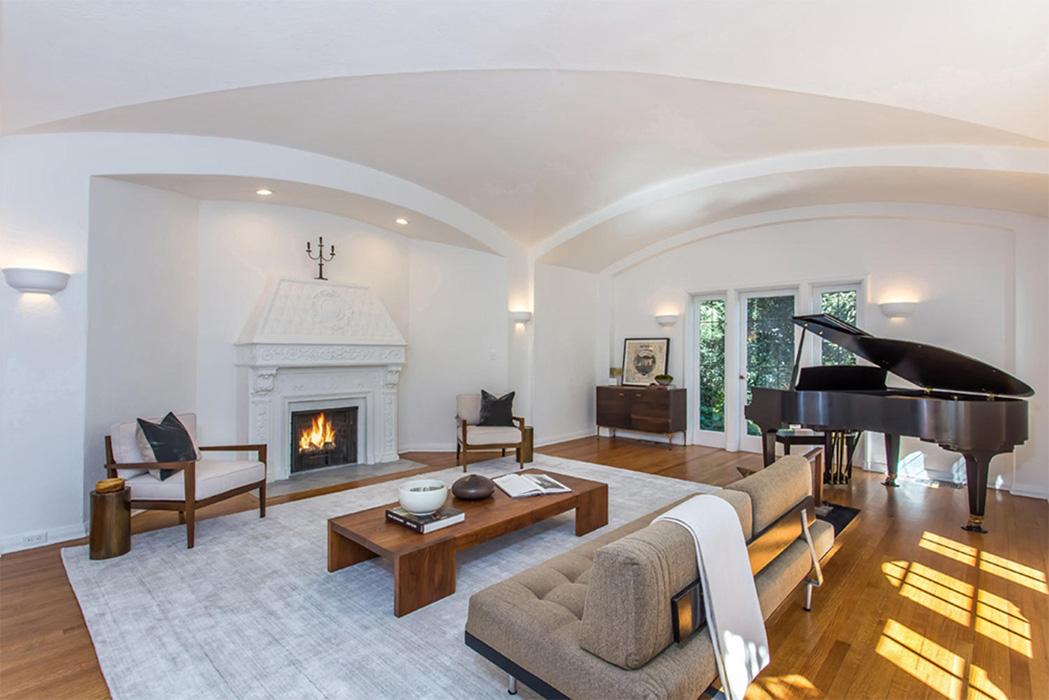 Moby's home in Los Feliz, LA