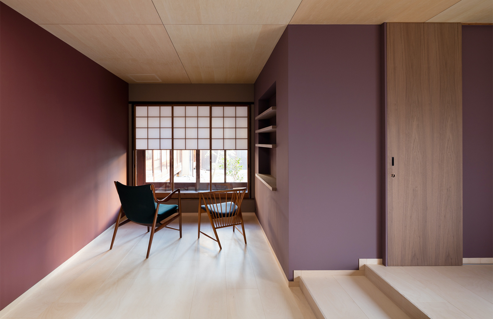 Nichinichi townhouse in Kyoto