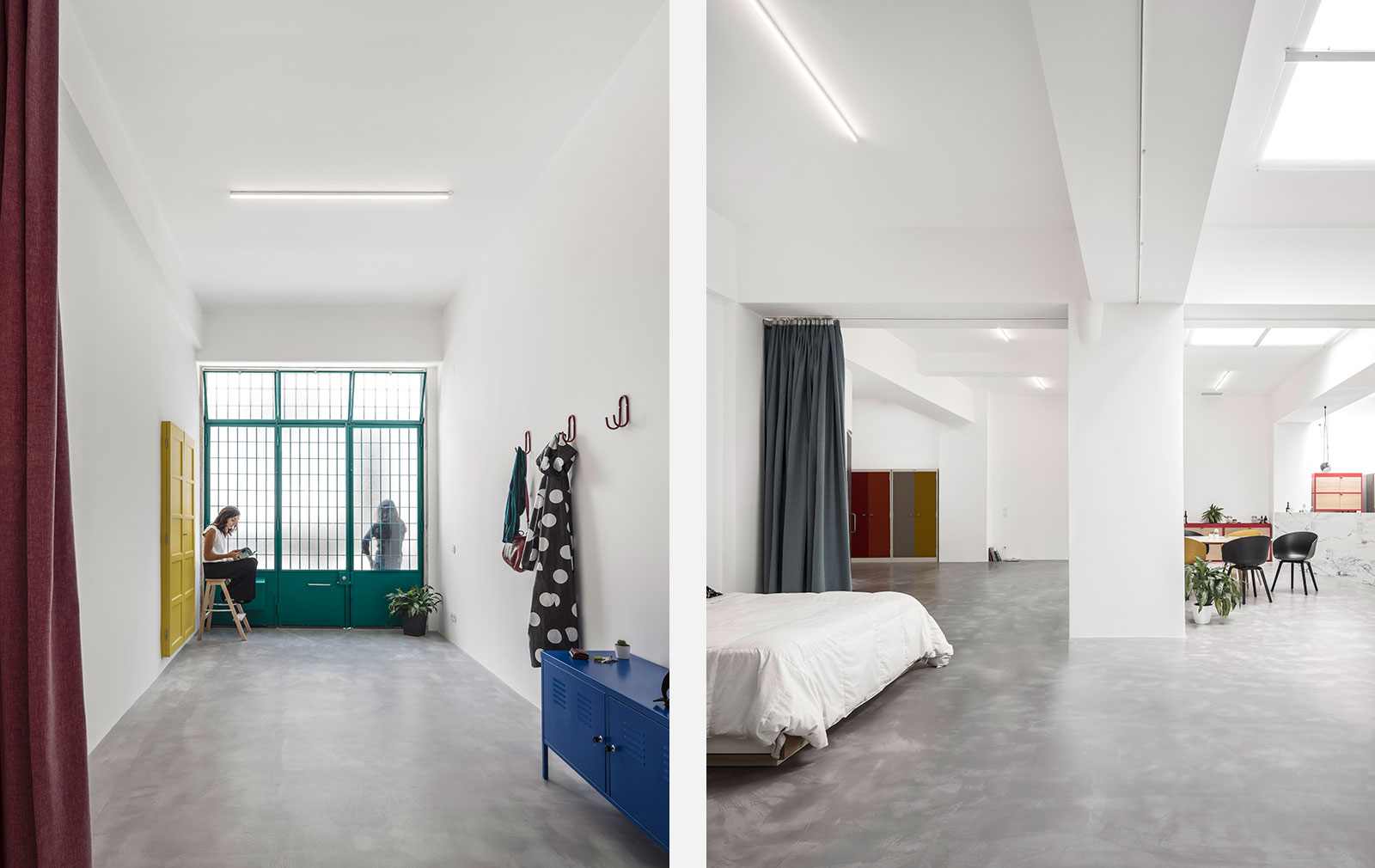 A garage conversion by Portuguese architecture practice Atelier Fala